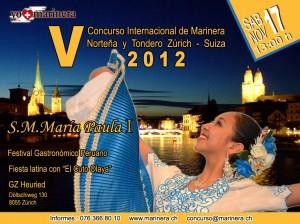 Concurso Marinera 2012