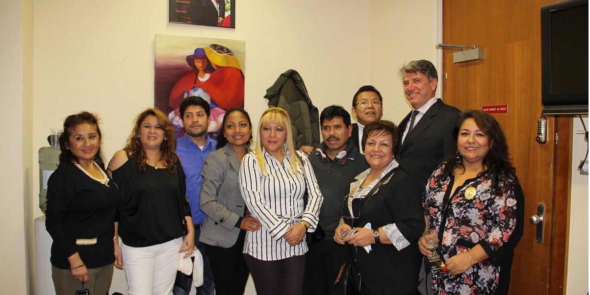Brindis Navideño en el Consulado GE