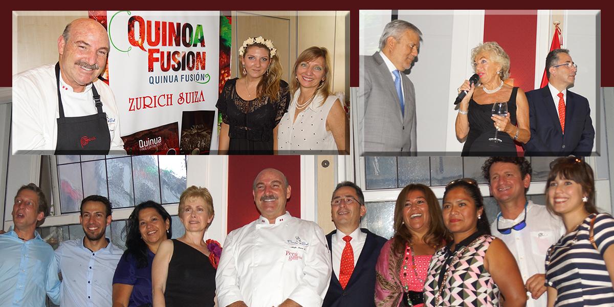 Quinoa Fusion - Zurich, Suiza