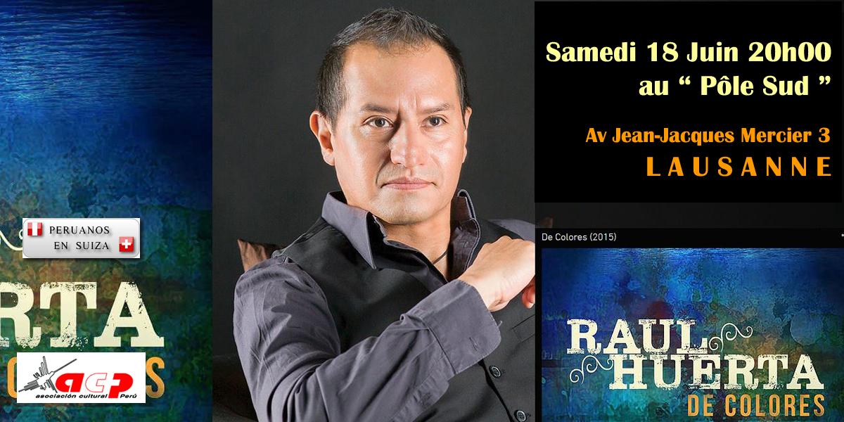 Raul Huerta en Lausanne