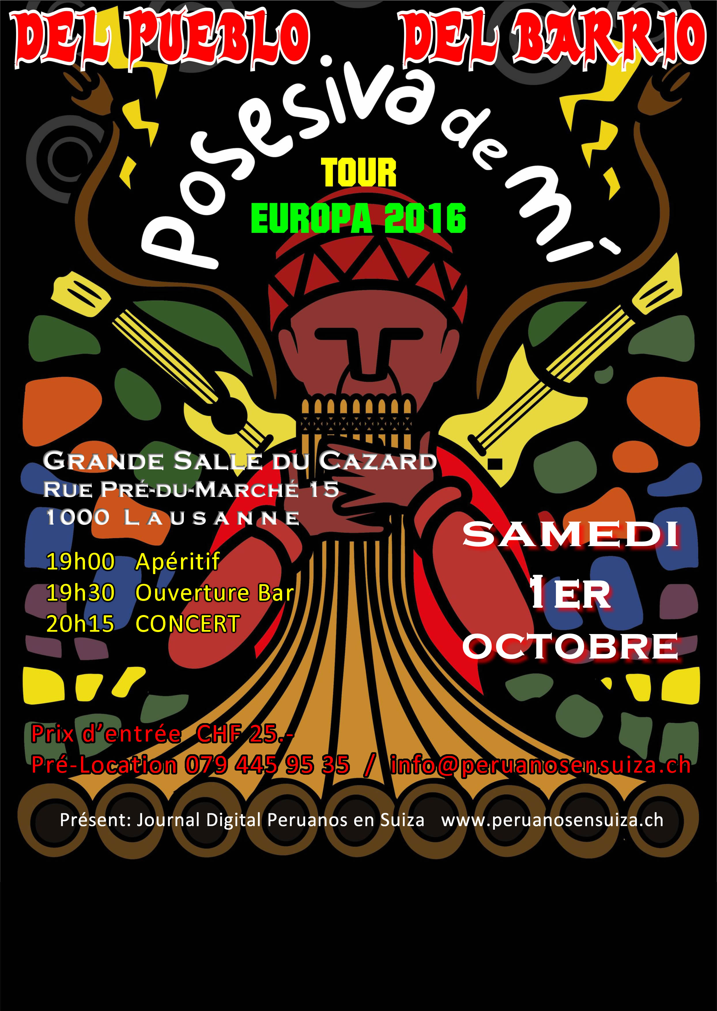 Pueblo EUROPA TOUR 2016 pubPeS