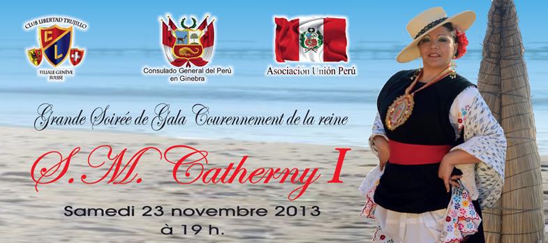 Catherny I – Soirée de Gala, coronación.
