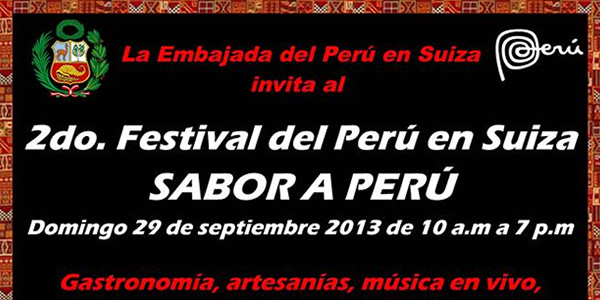 2do Festival del Perú en Suiza – Berna