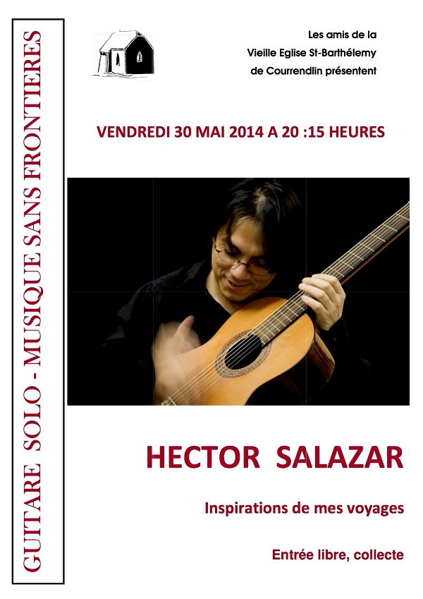Hector Salazar, à Courrendlin