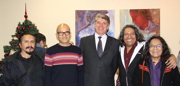 Brindis en el Consulado Peruano de Ginebra