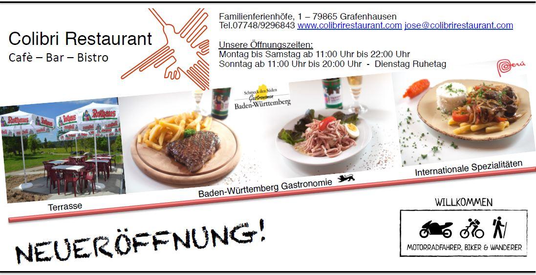 Colibri Restaurant en Grafenhausen (DE)