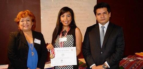 Peruanos en el exterior – Rocío Cornaz
