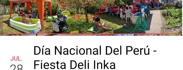 Deli Inka y el 28 de Julio