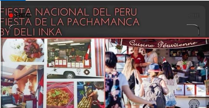 Fiesta Nacional con Deli Inka