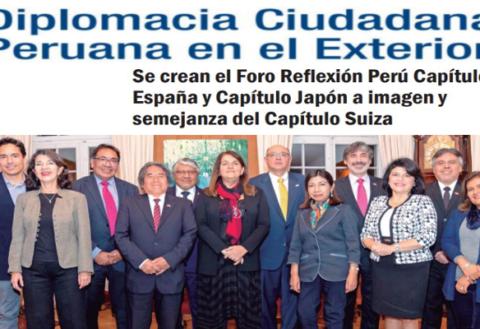 Diplomacia Ciudadana  Peruana en el Exterior